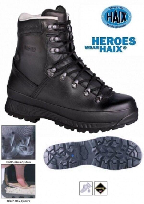Bundeswehr Bw Haix Goretex Mountain Stiefel Stiefel 44