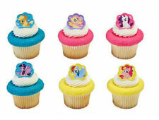 My Little Pony Beauty cupcake rings (24) party favor cake topper