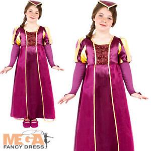 Image is loading Tudor-Girls-Fancy-Dress-Historical-Kids-World-Book-  sc 1 st  eBay & Tudor Girls Fancy Dress Historical Kids World Book Day Week Medieval ...