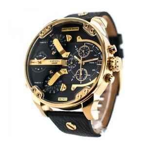 Brand-New-Diesel-DZ7371-Mr-Daddy-2-0-Black-Dial-Quartz-Chronograph-Men-039-s-Watch