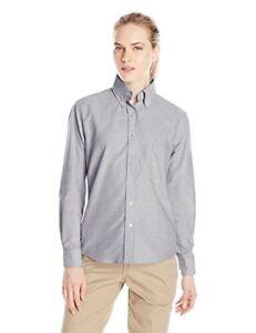 Red Kap Sr71gy Women S Executive Oxford Dress Shirt Ebay