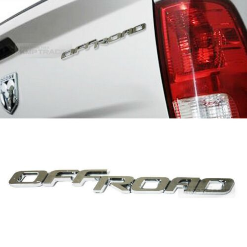 "OFFROAD Lettering Point Chrome 3D Logo Emblem Trunk Badge 6.8/"" for Universal Car"