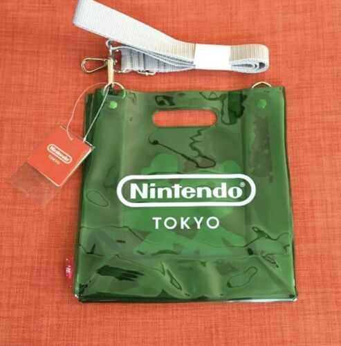 Nintend Tokyo  Limited PVC Bag Animal Crossing  F//S  Shibuya