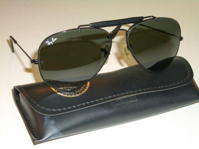 Ray Ban B&L W2964 Black Highstreet G15 PQAW Green Lens