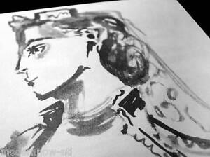 Pablo-Picasso-Ltd-Ed-n-332-Lithograph-034-Tourkish-Woman-034-Ref-c101-CustomFRAMING