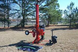 Image is loading Well-Drilling-Equipment-Drill-Rig-Geothermal-Boring-Machine -