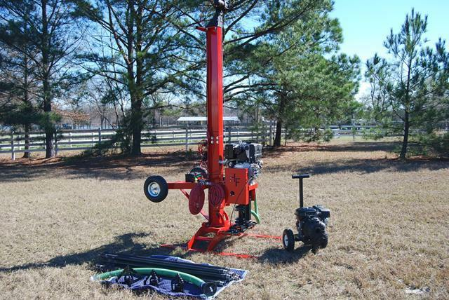Water Well Rig, Driller Pump Drill Equipment, Deep Rock Drilling Geothermal Tool