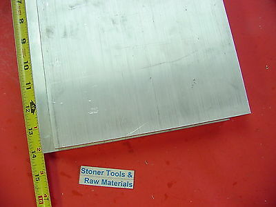 "2 Pieces 1/2"" X 8"" X 14"" ALUMINUM 6061 FLAT BAR SOLID T6511 New Mill Stock Plate"