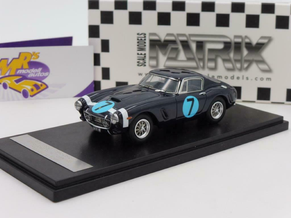 Matrix 40604-013 - Ferrari 250 GT Passo Carto No. 7 Winner RAC TT 1961 1 43 NEW