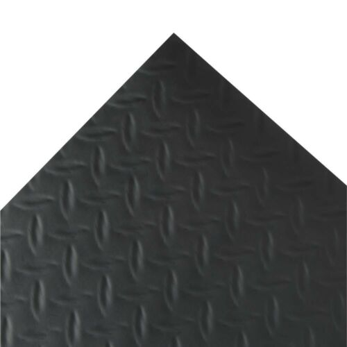 Non Slip Garage Floor Mat Vinyl Diamond Plate Flooring Covering 7.5 x 14 ft NEW