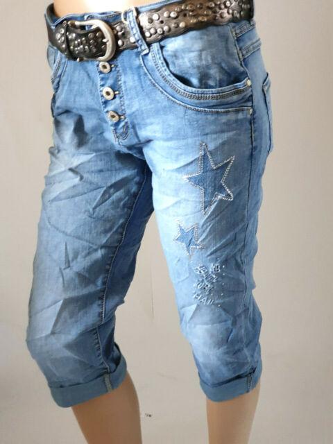 Karostar Baggy Jeans Boyfriend Hose doppelte Reißverschlüße Gr.38-48 @--}--