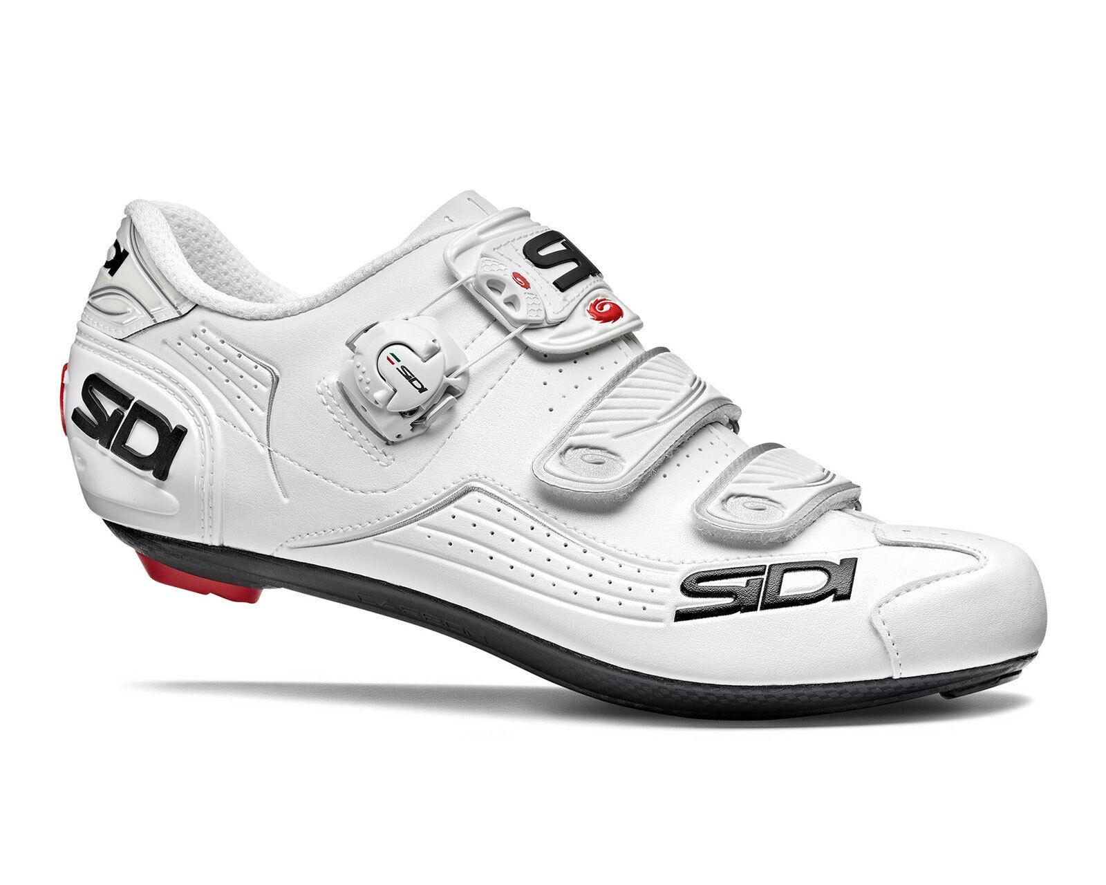 SIDI Alba Road Cycling shoes  - White White  unique design