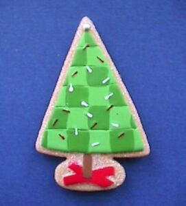 Hallmark-MAGNET-Christmas-Vintage-TREE-Sugar-COOKIE-Holiday-Fridge