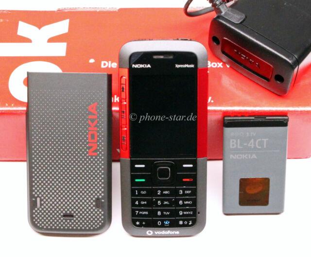 NOKIA 5310 XPRESSMUSIC HANDY MOBILE PHONE BLUETOOTH KAMERA MP3 WLAN UMTS WIE NEU