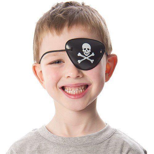 12 Pirate Eye Patches-Pinata Jouet Butin//Fête Sac Remplissage Mariage//Enfants