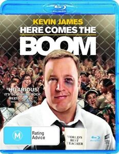 NEW-amp-SEALED-Here-Comes-The-Boom-Blu-ray-2013-Action-Comedy-Kevin-James