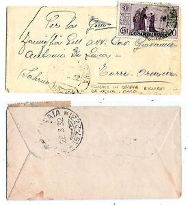 1931-S-Antonio-cent-20-isolato-RARO-per-Torre-Orsaia-nel-1932