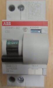 ABB-DISJONCTEUR-DIFFERENTIEL-DS941-C32-30MA-AC