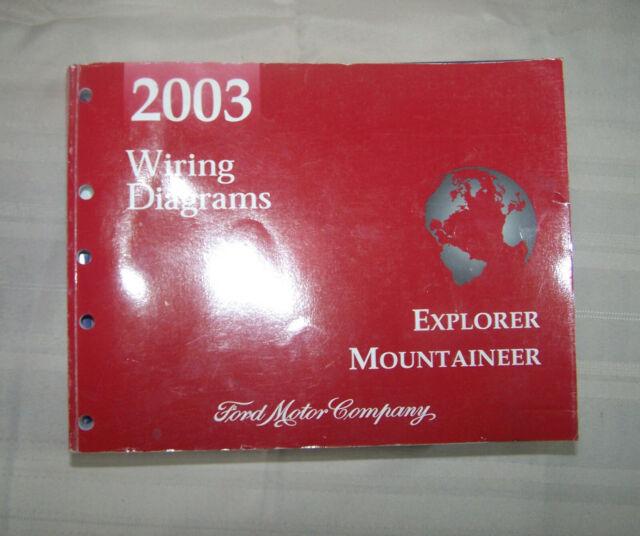 2003 Ford Explorer Mercury Mountaineer Wiring Diagram Oem