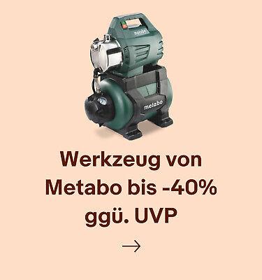 Werkzeug von Metabo bis -40% ggü. UVP