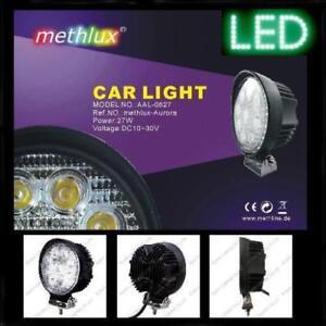 12V-LED-Flutlichtstrahler-IP65-Auto-Boot-Caravan-Leuchte-Lampe-Strahler-Fluter
