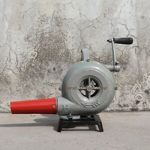 Forge-Furnace-With-Hand-Blower-Vintage-Style-Pedal-Type-Handle-Blacksmiths