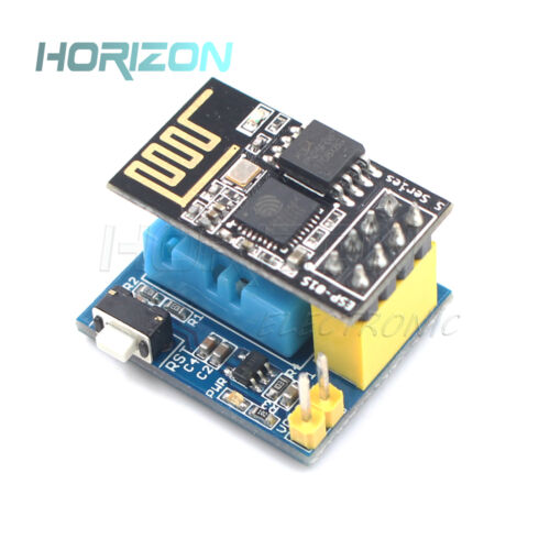 ESP8266 ESP-01S WIFI Wireless Module+DHT11 Temperature/&Humidity Shield Sensor