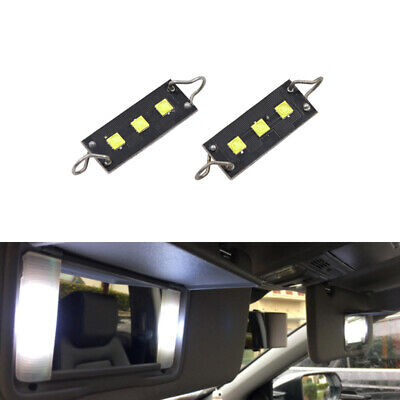 "2xCREE TWISTED Loop Festoon LED Bulb Car Interior Lights 1.73/"" Inch 44mm 561 562"