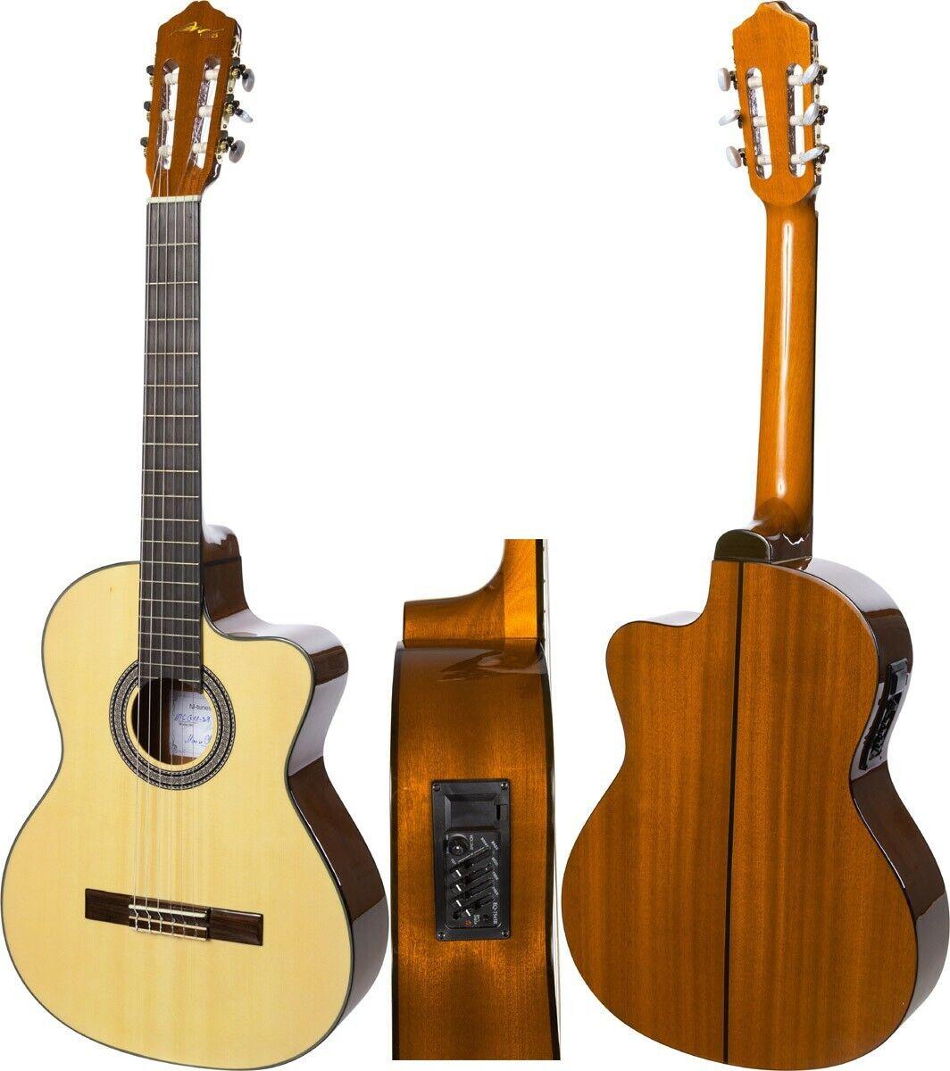 FR Guitare electro classique 4 4 39  M-tunes MTCG11