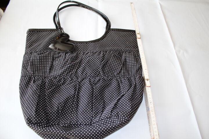 Damen Handtasche Punkte Polka dot dot dot schwarz türkis Herz Vintage 50er 60er Retro      Bunt,  fb7d2d