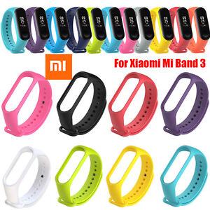 Silicon-Wrist-Strap-Band-Bracelet-Replacement-for-XIAOMI-MI-Band-3-LCA