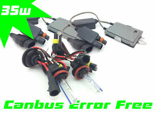 H11-Xenon-HID-Conversion-Kit-Pair-35W-Ballasts-Canbus-Pro-For-Nissan-Micra-17-On