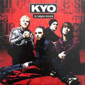 Kyo-CD-Single-Je-Saigne-Encore-France-VG-VG
