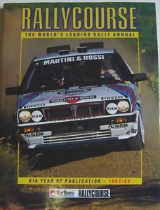Rallycourse-Annual-1987-88-6th-Rallycourse-Annual-good-condition-with-DW