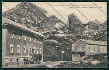 Aosta Gran San Bernardo Autopostale cartolina QQ5886