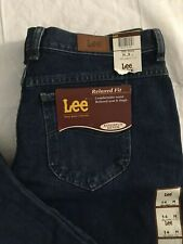 cc89c398 item 8 Lee Jeans Womens 14 Medium Straight Leg Relaxed Fit Dark Stone Denim  Mom NWT -Lee Jeans Womens 14 Medium Straight Leg Relaxed Fit Dark Stone  Denim ...