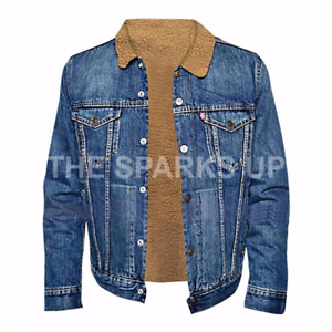 2a045ec80 Details about LOVE Simon Nick Robinson Simon Spier Mens Denim Jacket BEST  QUALITY - BIG SALE