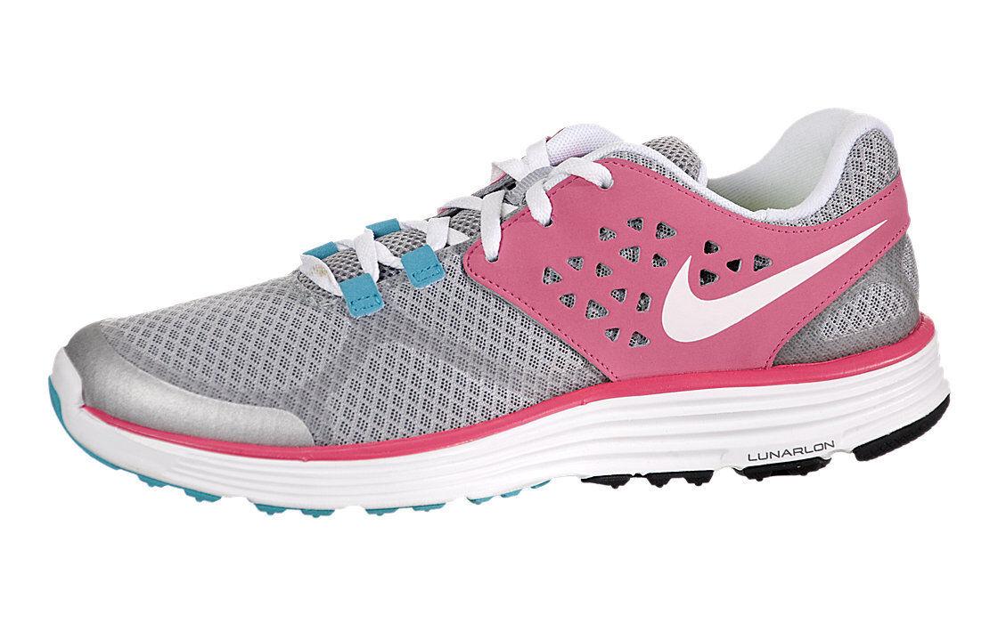 Nike Lunarswift 3 GIRLS Running PINK Sneaker 472669 001 size 5 (23.5CM)
