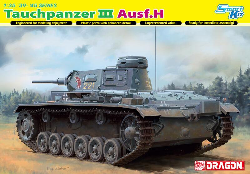 Dragon 1 35 6775  Tauchpanzer Pz.Kpfw.III (T) Ausf.H Ausf.H Ausf.H    Spielzeug mit kindlichen Herzen herstellen  0fc847