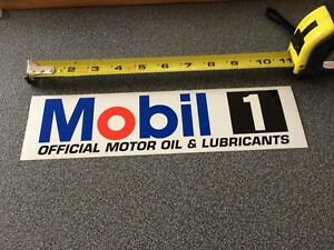 Nascar-Authentic-Mobil-1-Race-Car-LARGE-Contingency-Racing-Decals-Sticker