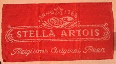 Selfless Stella Artois Beer Bar Towel New A Complete Range Of Specifications Breweriana, Beer