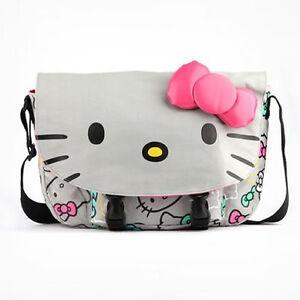 Hello-Kitty-Messenger-Bag-Grey