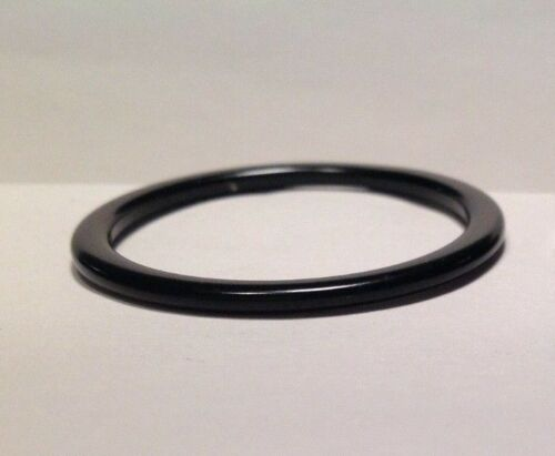 1 1//8 headset spacer with radius//rounded outside corners-2mm-aluminum-black