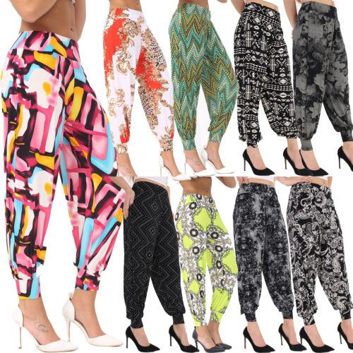 Femme Pantalon Pantalon Hareem Ali Baba Harem Leggings Baggy Grande Taille Femmes 8-26