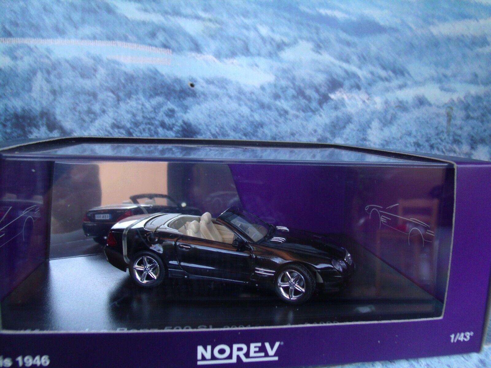 1 43  Norev   Mercedes Benz 500 SL 2001 1 of 1000