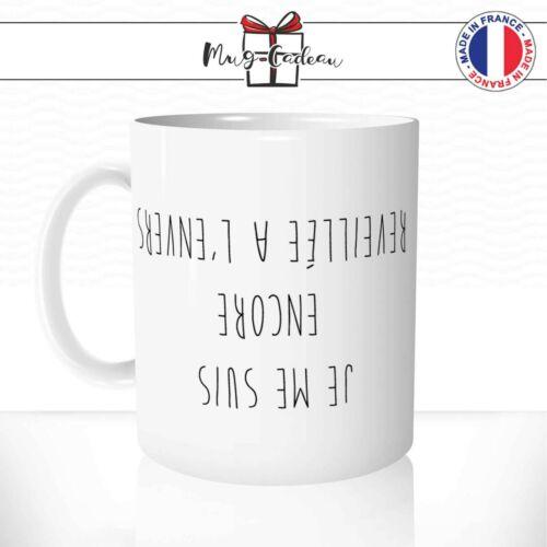Tasse Originale Idée Cadeau Thé Café Mug Humour Citation Matin Réveil Drôle