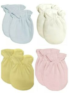 Baby Anti Scratch Mittens 2 Pairs Scratch Mitts Twin Pack Newborn