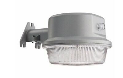 Lithonia Lighting Gray Outdoor 21w Integrated Led Area Light With Dusk To Dawn