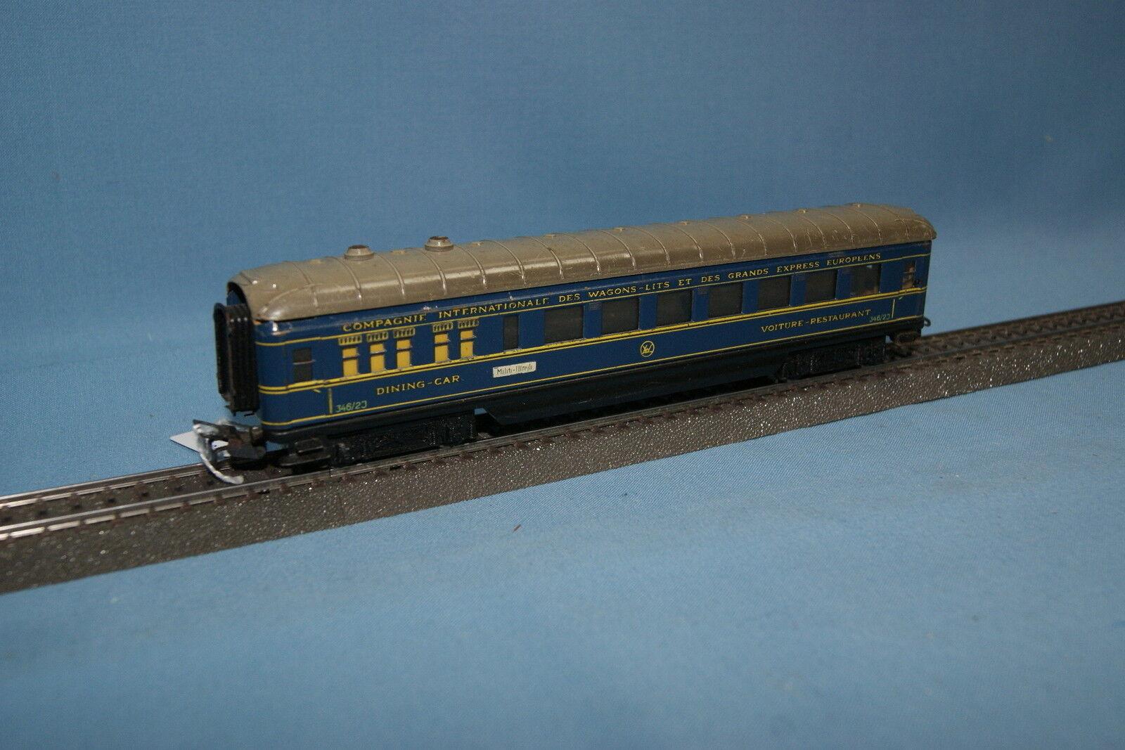 Marklin 4009 346/2 J DB Dining Car CIWL blu