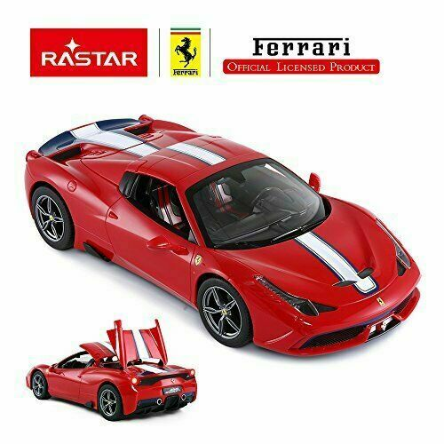 Licensed Ferrari 458 Special A Electric Rc Car Scale 1 14 Color Yellow By Rastar For Sale Online Ebay